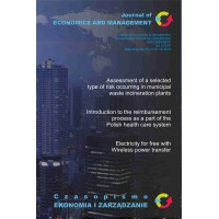 Assessment of a selected type of risk occurring in municipal waste incineration plants